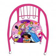 Chaise en metal Princesse fauteuil enfant Cendrillon