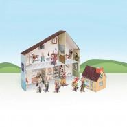 Clinique vétérinaire en carton, a construire maison hopital