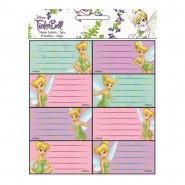 Lot de 16 étiquette Fée Clochette Disney cahier enfant ecole
