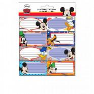 Lot de 16 étiquette Mickey et Donald Disney cahier enfant
