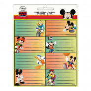 Lot de 16 étiquette Mickey Mouse Disney cahier enfant ecole