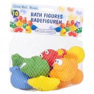 Lot de 10 jouet pour le bain enfant bébé figurine animal