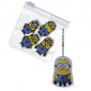 Lot de 4 gomme Les Minions Disney enfant