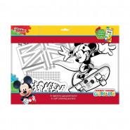6 Grands dessin Mickey coloriage Disney 6 feutres