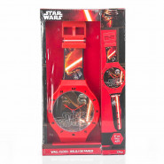 Horloge murale Star Wars XL 47 cm montre Disney enfant