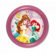 Horloge murale Princesse montre rose 1