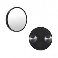 Miroir grossissant x5 avec ventouse noir