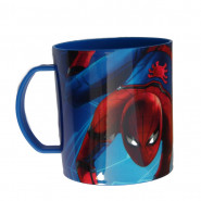 Tasse Spiderman, mug plastique Gim