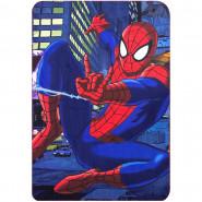Plaid polaire Spiderman couverture enfant Disney toile