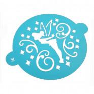 Pochoir gâteau la Fée Clochette décoration patisserie Disney