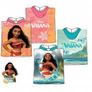 Poncho de bain Disney Vaiana, cape pour enfant