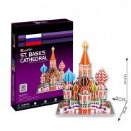 Puzzle 3D Cathedrale Saint-Basile Maquette