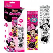 Puzzle a colorier 24 pieces Minnie Mouse 48 x 13 cm