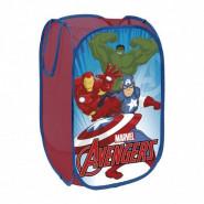 Rangement Pop Up Avengers jouet peluche  bac à linge pliant panier