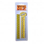 Set écolier Les Minions règle, crayon, gomme Disney jaune