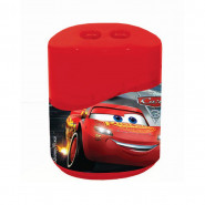 Taille crayon Cars 3 avec reservoir 2 trous new