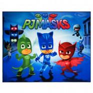 Tapis enfant PJ Masks 125 x 95 cm chambre Disney