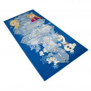 Tapis enfant La Reine des Neiges 95 x 200 cm Marelle Disney