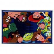 Tapis enfant Toy Story 120 x 80 cm Disney Woody Buzz