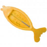 Thermometre de bain, poisson, bébé enfant jaune
