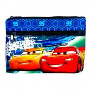 Trousse enfant Cars Disney 25 x 15 toilette bleu
