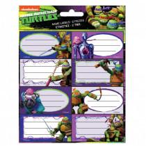 Lot de 16 étiquette Tortue Ninja Disney cahier livre classeur enfant