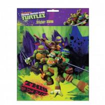 Album pour stickers Les tortues Ninja autocollant Disney enfant