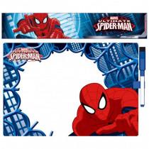 Mémo Spiderman ardoise garçon tableau