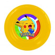Assiette plastique creuse Pokemon repas enfant