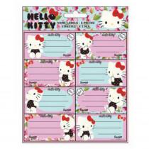 Lot de 16 étiquette Hello Kitty Disney cahier enfant