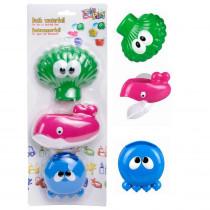 Set de jouet de bain avec ventouse bébé enfant 1