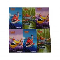 450 stickers Planes, 6 mini carnet Disney enfant