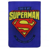 Plaid polaire Superman Couverture enfant