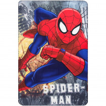 Plaid polaire Spiderman couverture enfant Disney montre