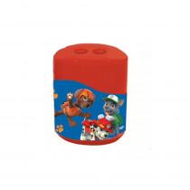 Taille crayon La Pat Patrouille 2 trous Disney enfant rouge reservoir