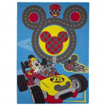 Tapis enfant Mickey Mouse 133 x 95 cm Circuit