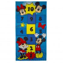 Tapis enfant Mickey et Minnie Mouse 160 x 80 cm Disney Marelle