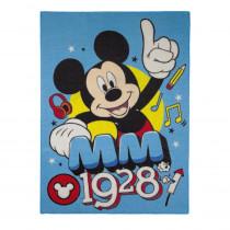 Tapis enfant Mickey Mouse 133 x 95 cm Disney MM 1928