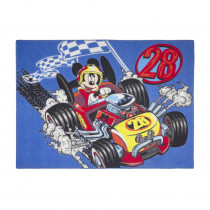 Tapis enfant Mickey Mouse 133 x 95 cm Disney voiture