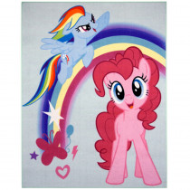 Tapis enfant My Little Pony 125 x 95 cm Disney 04 Haute qualite
