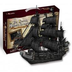 Puzzle 3D Queen Anne Revenge  Maquette Bateau