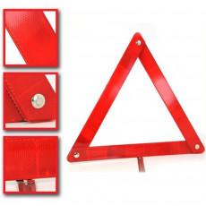 Triangle de signalisation compact pliable avertissement