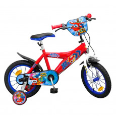 Vélo officiel Super Wings 14 pouces Disney enfant