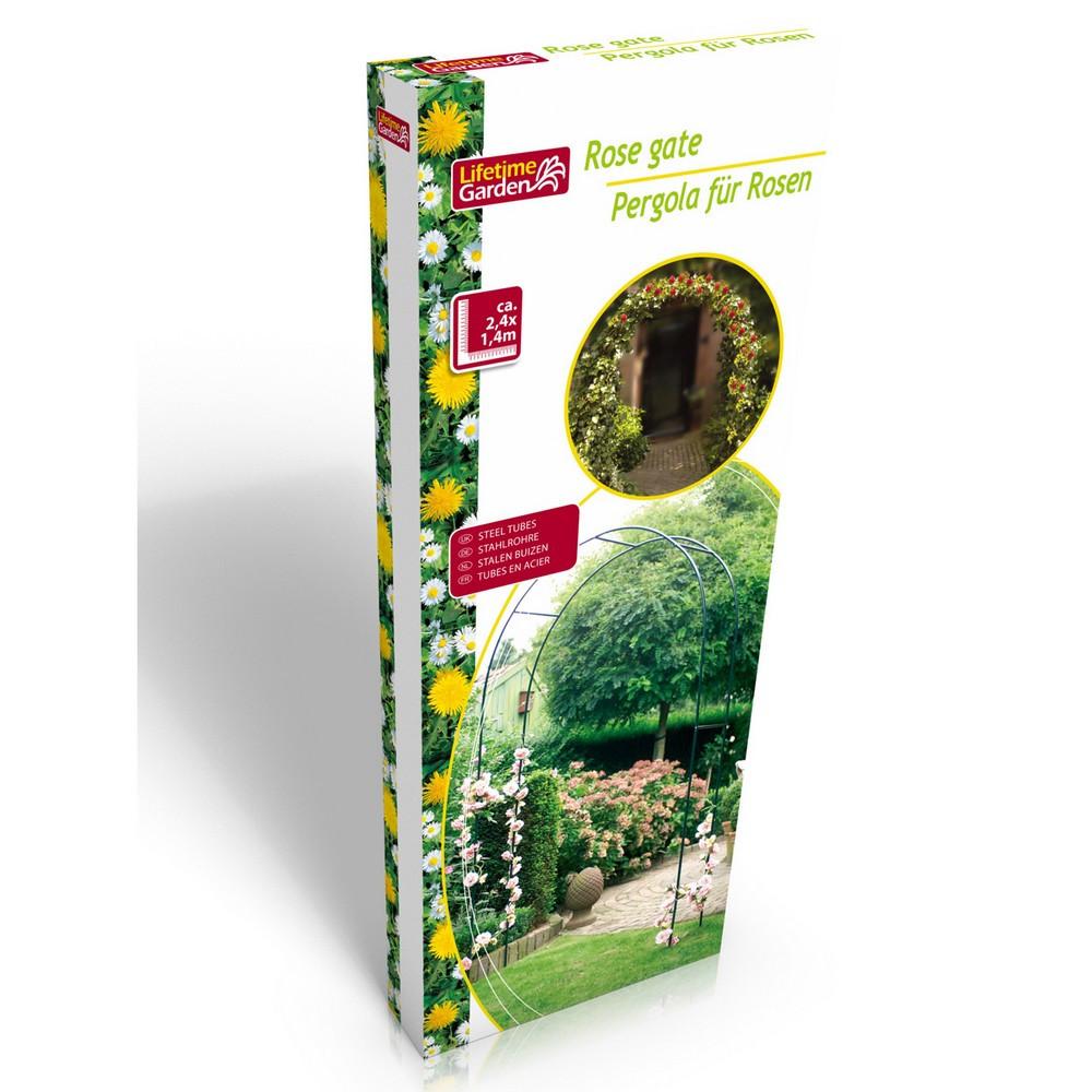 Arche de jardin arceau arcade jardin rosier plantes et - Arceau de jardin pour plantes grimpantes ...
