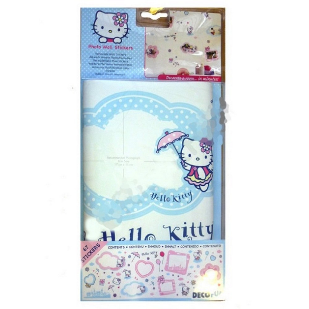 Stickers Mural Hello Kitty Disney Muraux Cadre Photo Xl