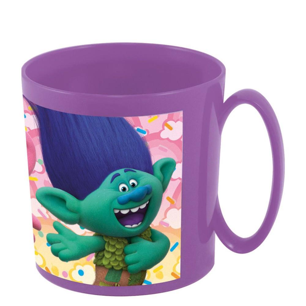 tasse les trolls poppy micro onde disney mug plastique gobelet enfant tasses loulomax. Black Bedroom Furniture Sets. Home Design Ideas