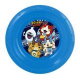 Assiette plastique creuse Yo Kai Watch repas enfant