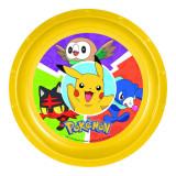 Assiette plate Pokemon repas enfant plastique