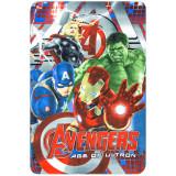 Plaid polaire Les Avengers couverture enfant Disney mod2