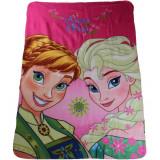 Plaid polaire La reine des neiges couverture enfant Disney mod1